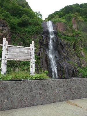 浜益町「白銀の滝」画像