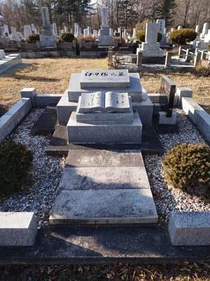 臼田梅之墓