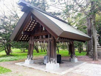 9_帯廣神社手水舎