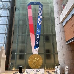 東京オリンピックメダル